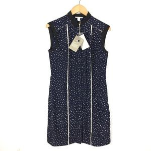 Jason WU Target collaboration navy dot shift dress